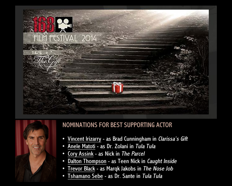 168 Film Festival - Best Supporting Actor Nominations