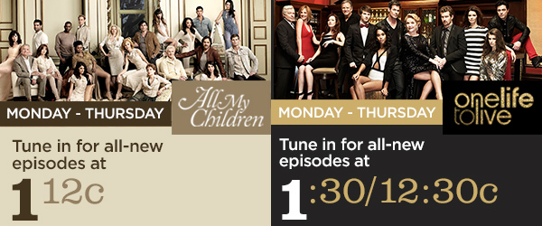 OWN-AMC and OLTL Airing Schedule (August update)