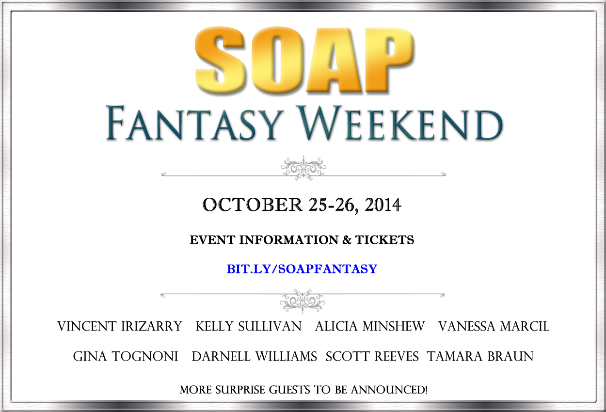 Soap Fantasy Reunion Weekend